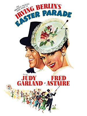 EASTER PARADE - I haven't seen Easter Parade yet, but the premise is that a nightclub performer (Fred Astaire) hires an inexperienced chorus girl (Judy Garland) to prove to his former partner that he can make anybody a star. It sounds like a vintage musical version of She's All That. Click here to watch Easter Parade