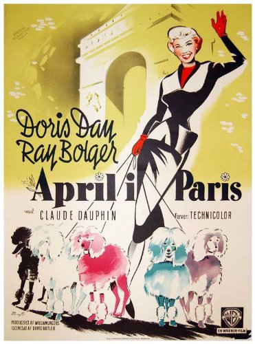 APRIL IN PARIS - Anything with Doris Day in it is a winner with me.Click here to watch April in Paris