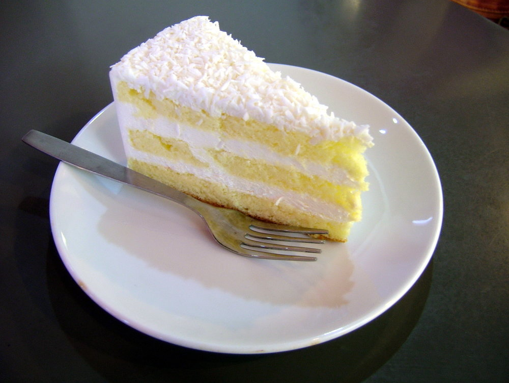 Coconut Cake - Reportedly she ate this every year on her birthday.