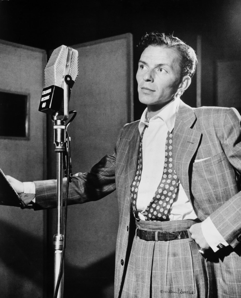 FRANK SINATRA - Ava and Frank shared a tumultuous lifetime of lover's ups and downs. But even at their worst, she was passionate about his music, and never got bored of hearing him sing (who can blame her). He frequently sang to her over the phone even after they divorced.