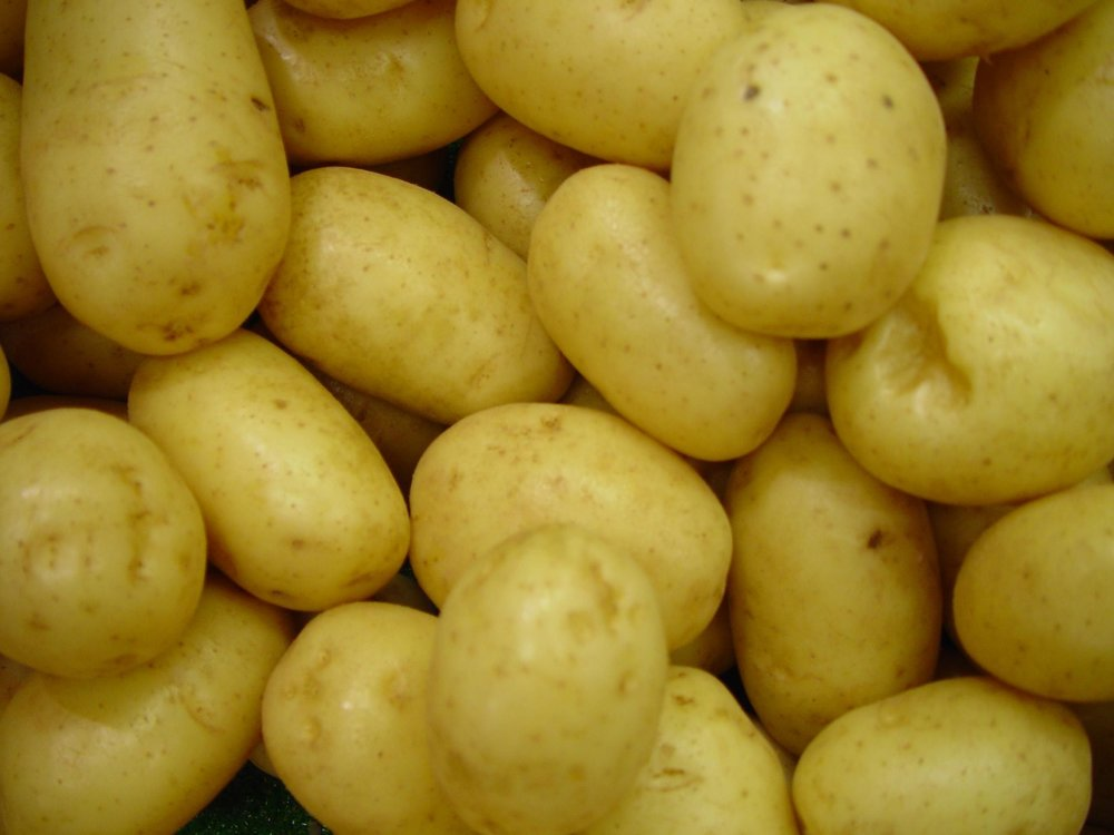 Potatoes - About potatoes, she once said,