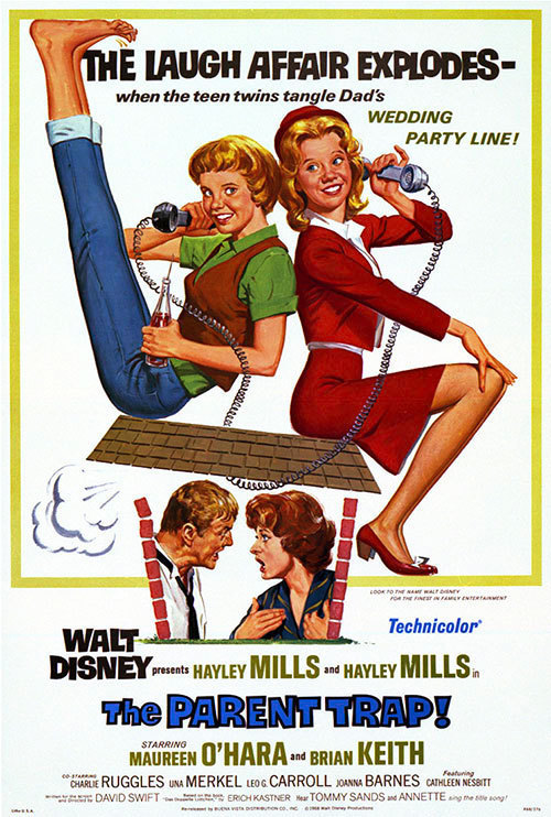 The Parent Trap - Lighter fare than some of the other films on this list, Maureen O'Hara exquisite (and hilarious) performance makes this a perfect choice for Mother's Day. It's also probably my favorite film from this list.