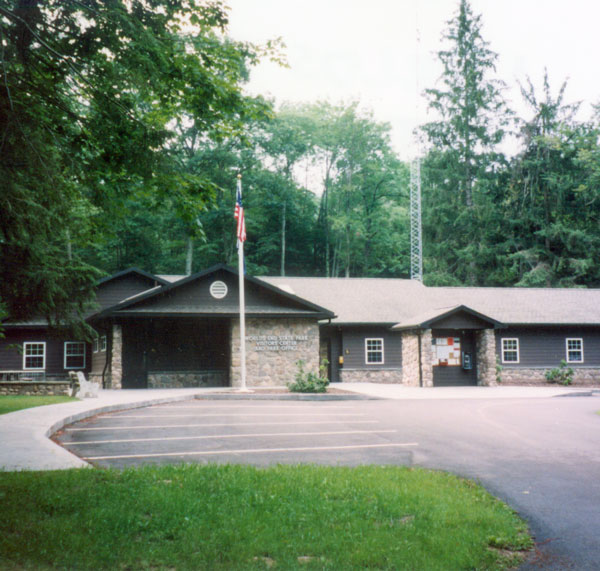 Worlds End State Park,  Park Office and Visitors Center