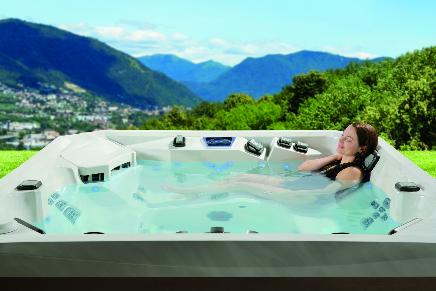Buy Hot Tub Spas in Wenatchee - Chim Chimney Fireplace Pool & Spa ...