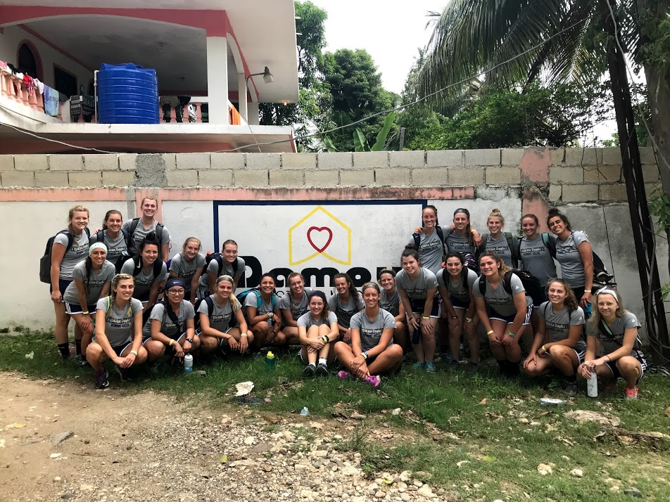Cornerstone University Women's Soccer -FSI- Damou Haiti Mission Trip August 2018