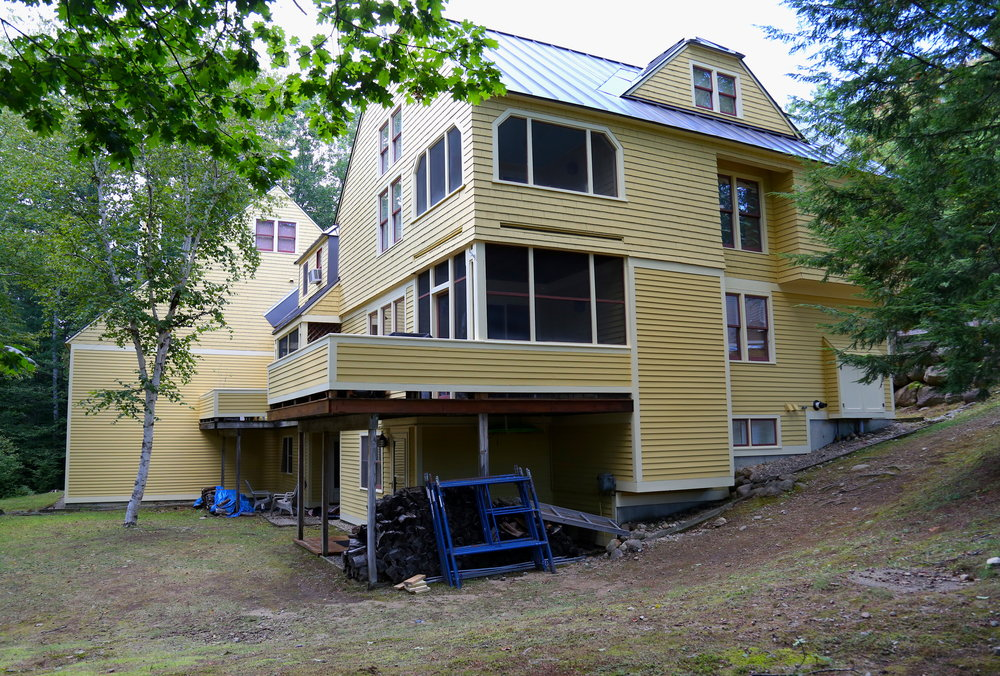 Cranmore Condo - Backside