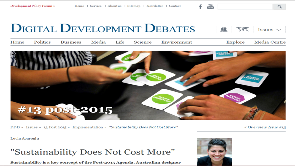 Digital Development Debates Interview 2014