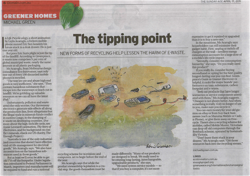 The Age Newspaper 2011