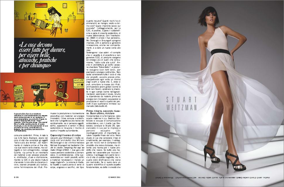 Italian Newspaper Magazine 2011