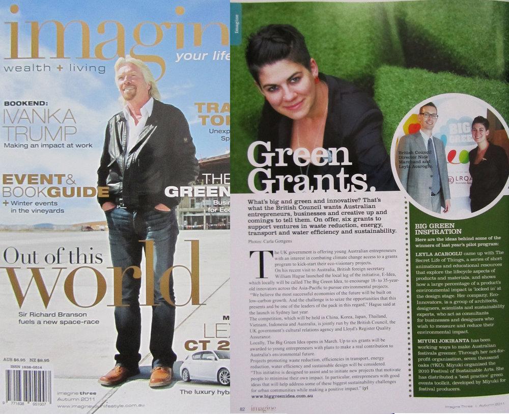 Imagine Magazine 2011
