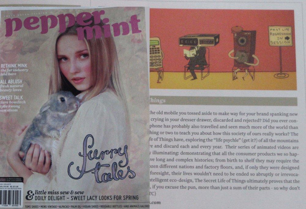 Peppermint Magazine 2010
