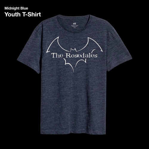aa97607971d8 Youth Midnight Blue T-Shirt — The Rosedales