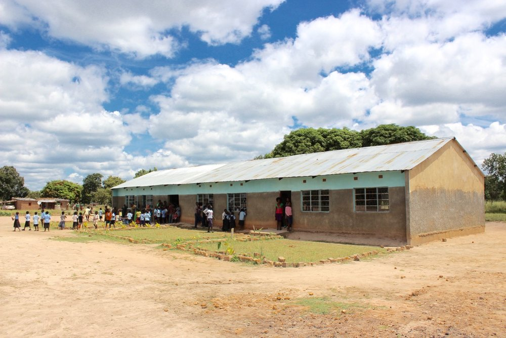 Kamisombo School open for classes.