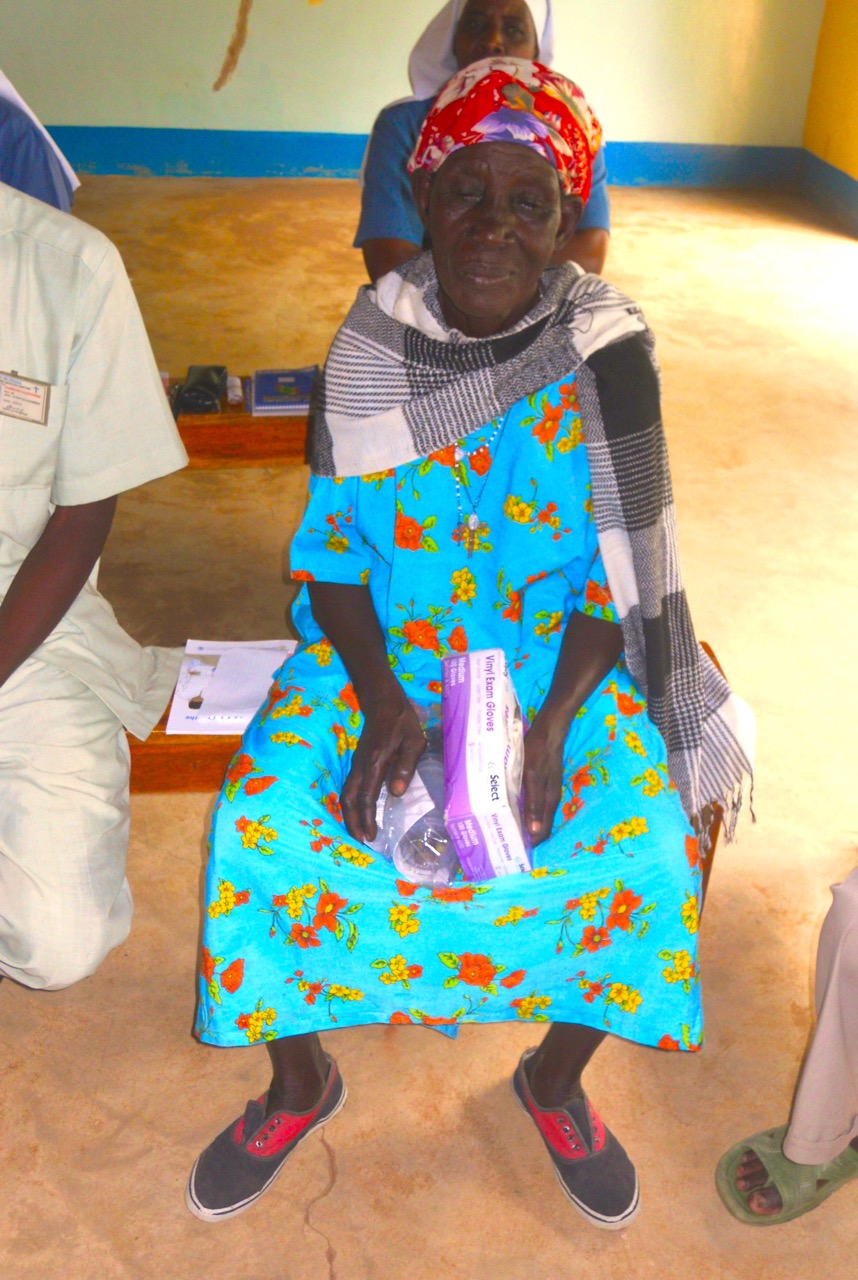 Village midwife attending Helping Babies Breathe session.