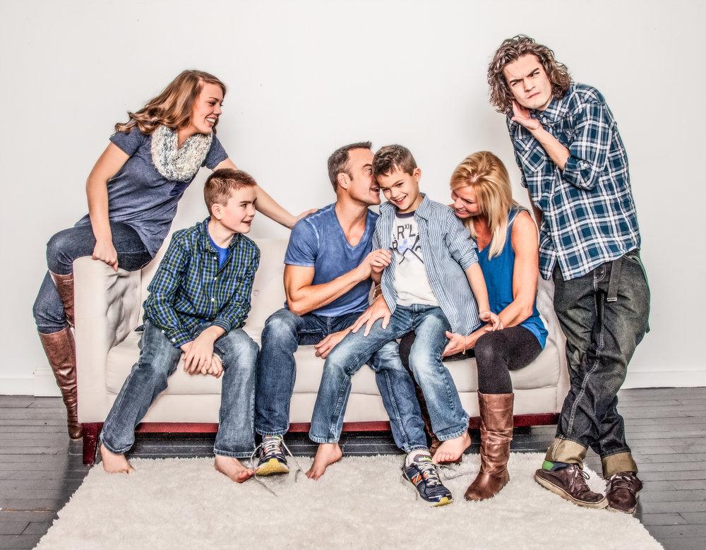 Cory Weitfeldt Family Portrait