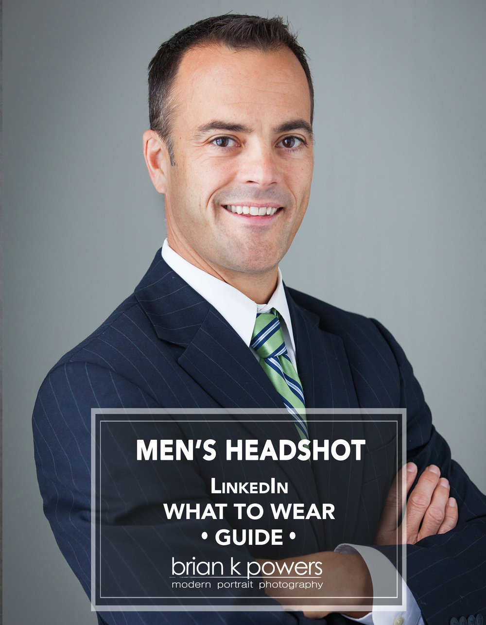 Not sure if you should wear a tie or not. What about a jacket. This  LinkedIn  guide for Men's Business Headshots will help you make the perfect choices.