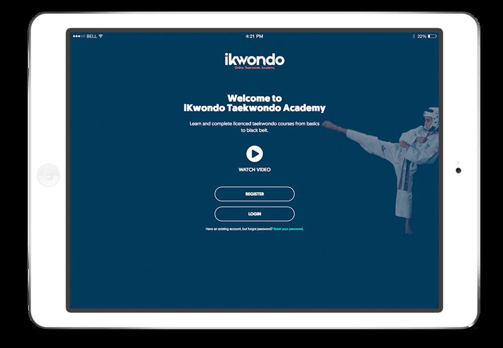 ikwondo online taekwondo ipad app store google play
