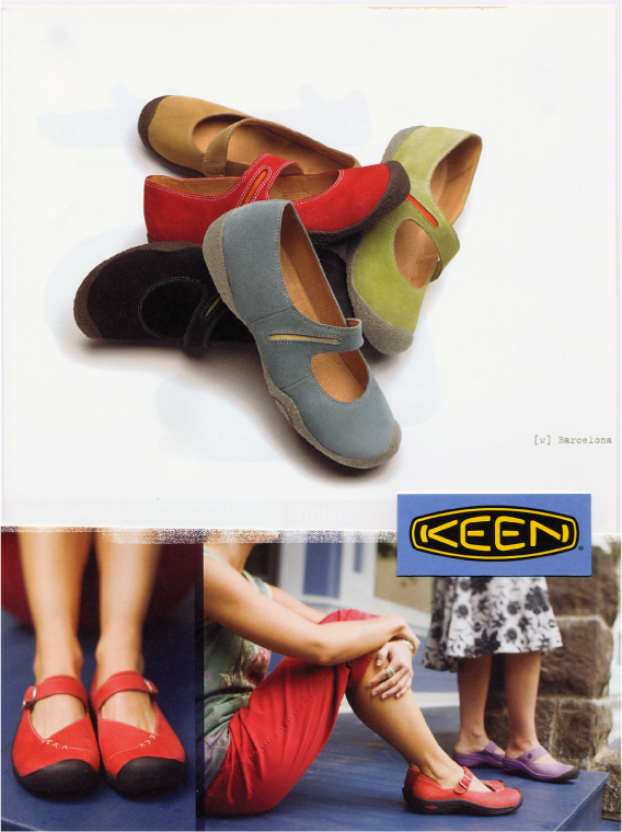 Keen  Women's colorful Market Street shoes.