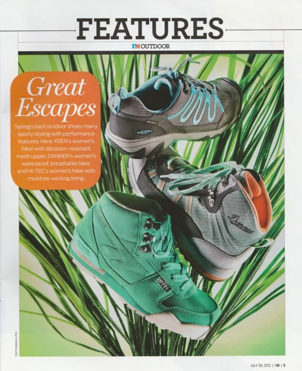 Danner  Boot featured in Footwear News Sp13.