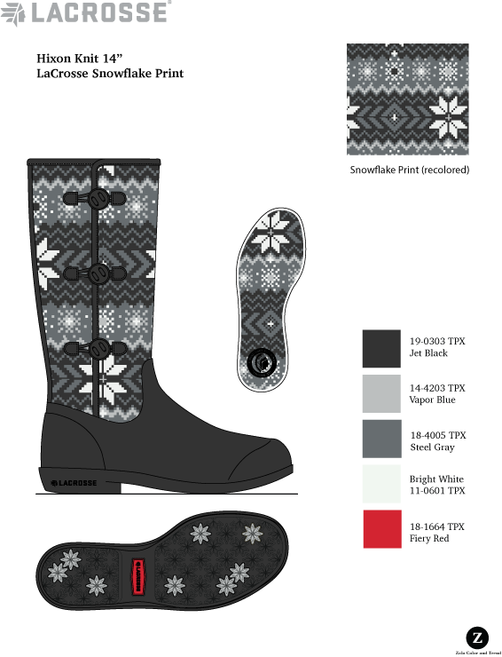 LaCrosse Lifestyle  Women's knit/rubber boot