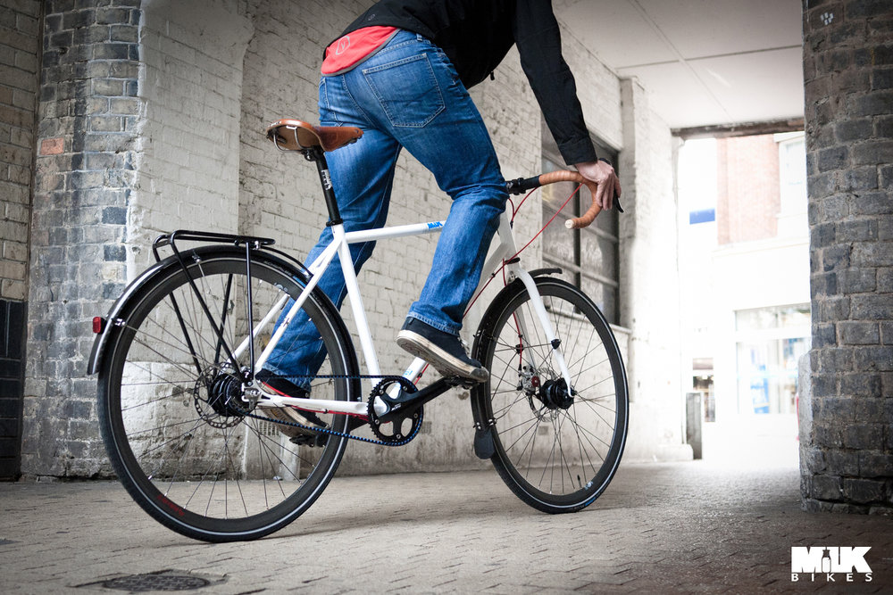Milk Bikes RDA - super low maintenance commuter bike