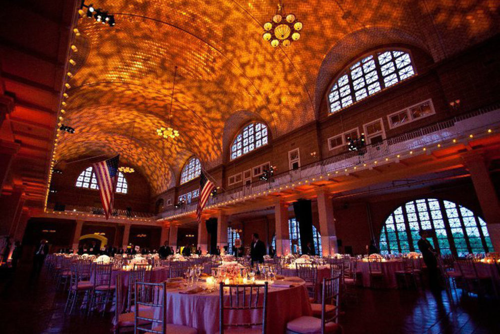 ELLIS ISLAND  - Beautiful event space on historic Ellis Island, gateway to many thousands of immigrants