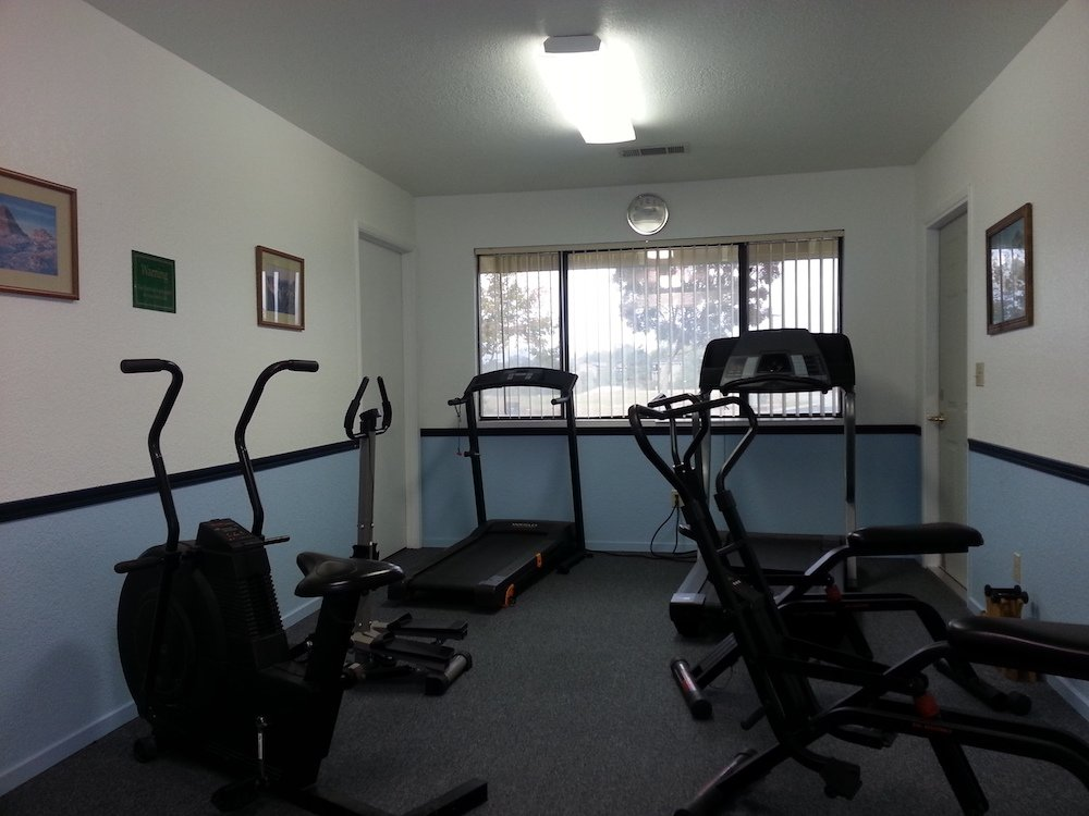 Stay in Shape in the Exercise Room