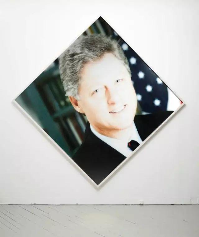 《第一黑人总统》,2013,数码打印,104 x 104英寸