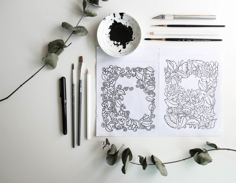 Behind the Scenes: The Making of Our First Stationery Collection | Root & Branch Paper Co.