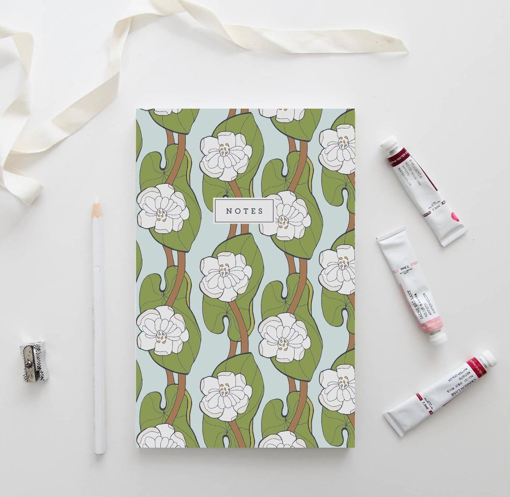 Lotus Leaf Notebook