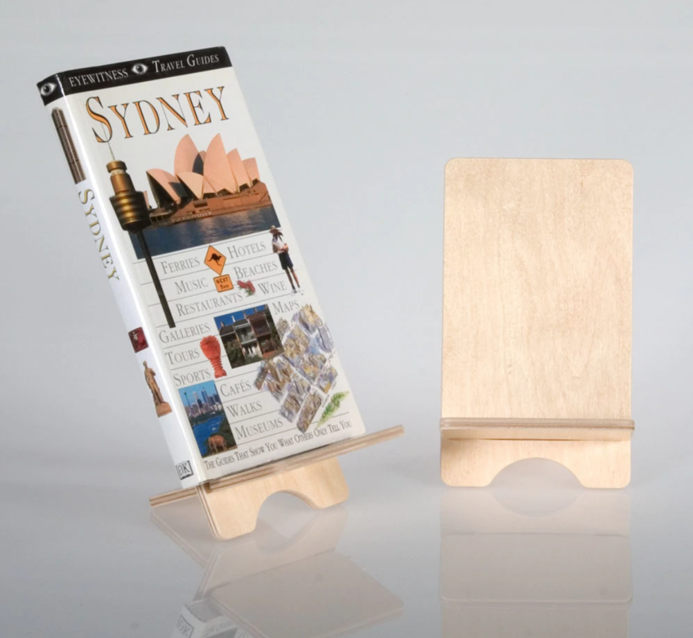 Plywood Bookstand from Clear Solutions