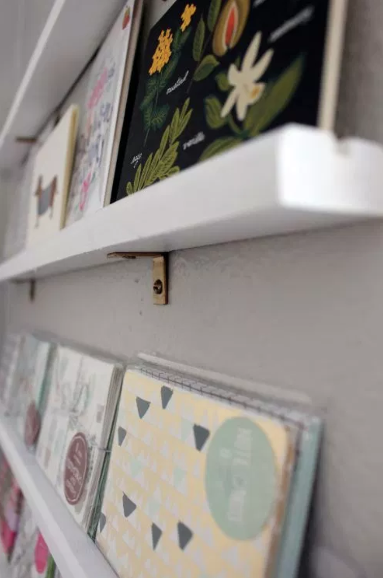 DIY Greeting Card Display by Within the Grove