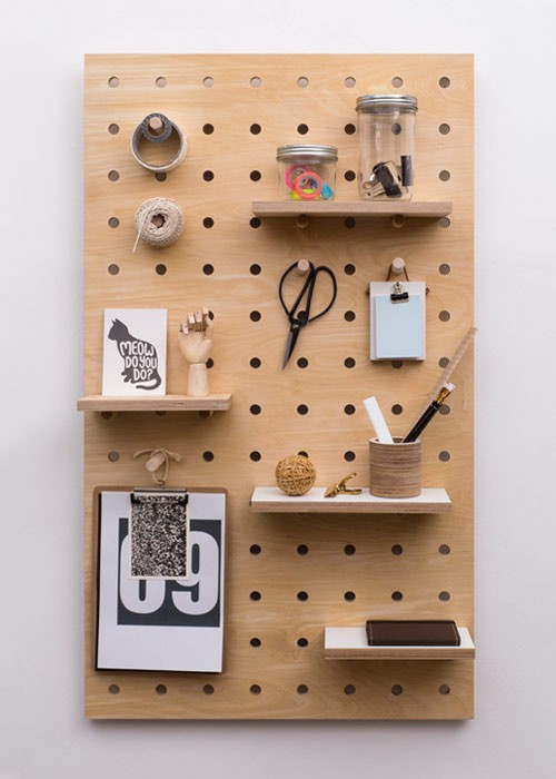 Pegboard Ideas from Home Edit