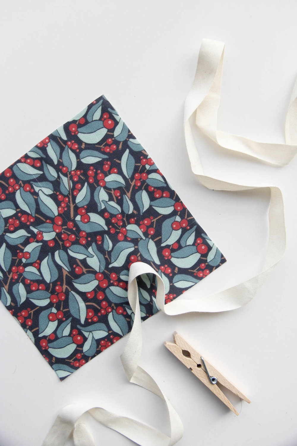 Wintry Woodland: A Holiday Fabric Collection by Jessie Tyree Jenness for Root & Branch Paper Co.