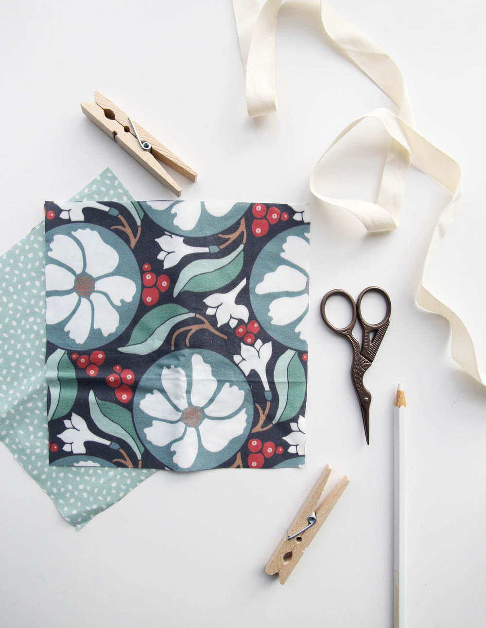 Winter Holiday Fabric Collection by Root & Branch Paper Co.