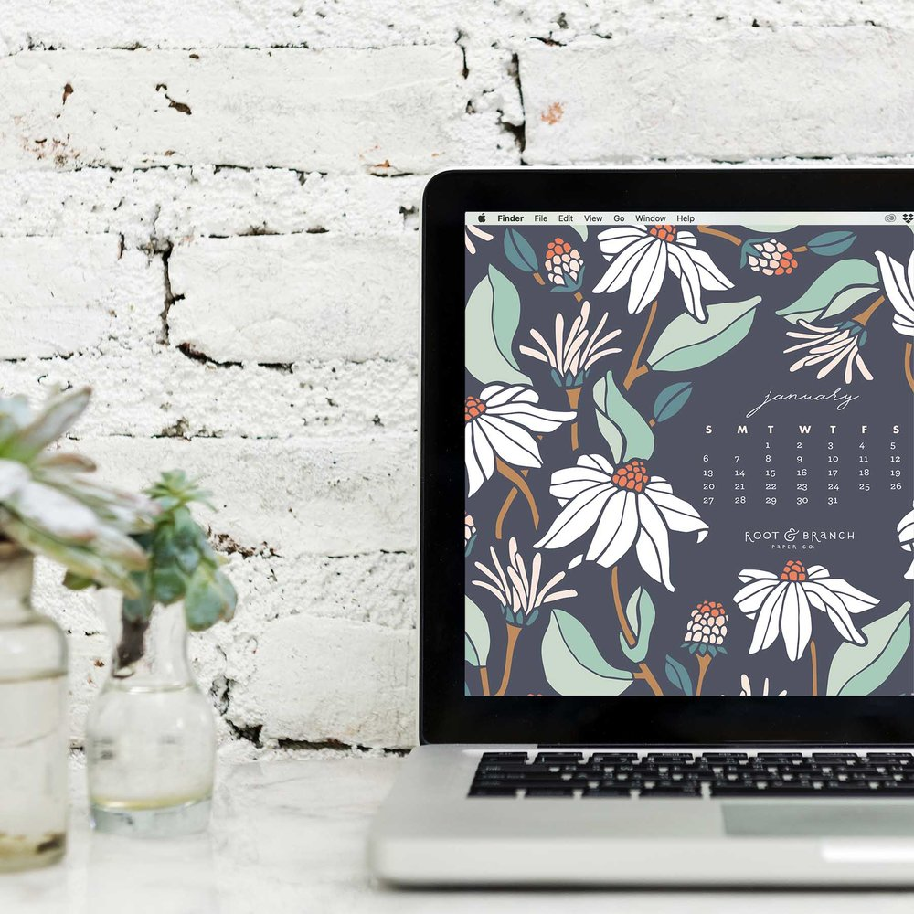January 2019 Calendar A Free Digital Desktop Wallpaper For Download