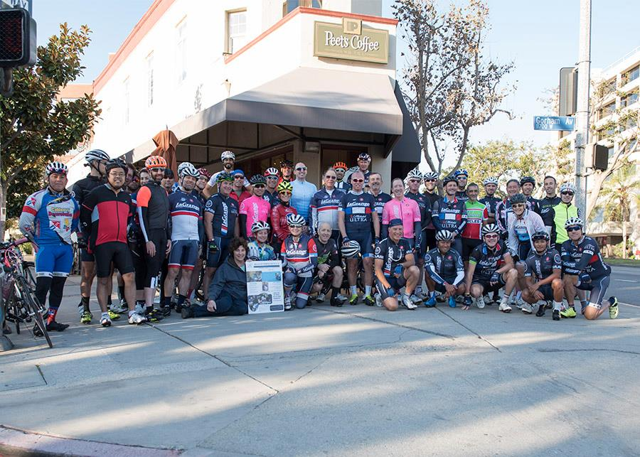 The start of our annual Thanksgiving Ride to benefit Meals on Wheels. Thanks to all of those who participated and donated to such a good cause - getting hot food to those in need.