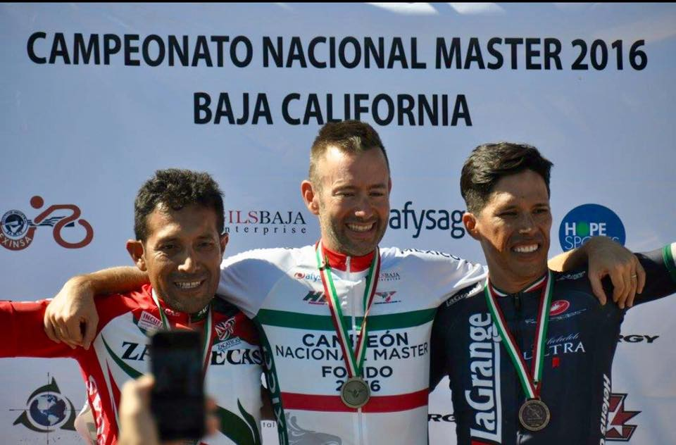 Victor Ayala on the podium at the Mexico National Championships!