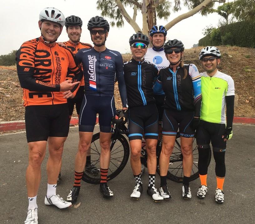 Big Orange racer / La Grange sponsor Seth Davidson looking good in his La Grange kit.