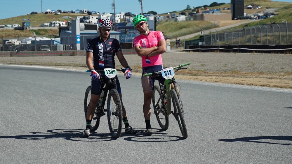 Chris Rovin and Patrick Barrett at the Sea Otter Classic.