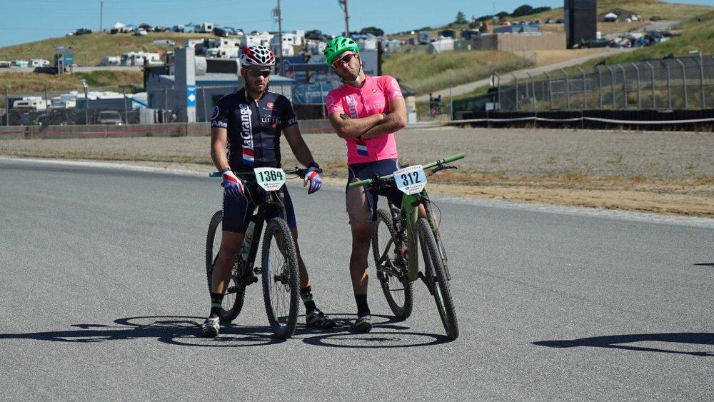 Chris Rovin and Patrick Barrett at the Sea Otter Classic.