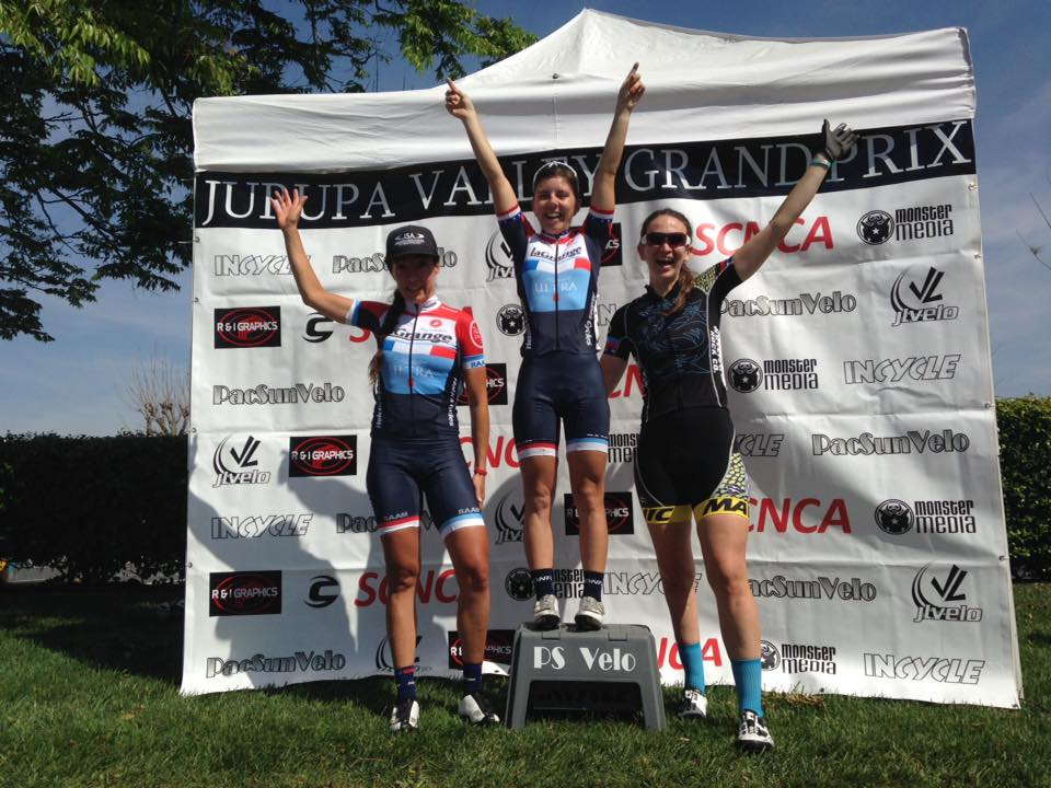 Kate Wilson and Daniela Garcia go 1-2 at the Jurupa Valley Grand Prix on Easter Sunday.