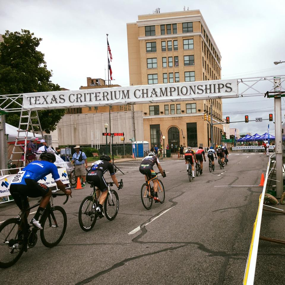 Patrick Barrett took 6th place at the Texas State Criterium Championship!