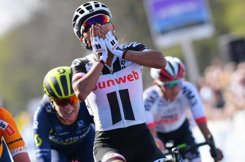 Congratulations to La Grange alum Coryn Rivera for winning the April 2 womens Tour of Flanders!
