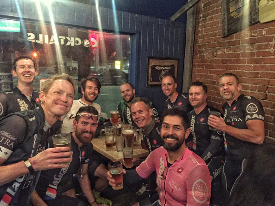 David Miller make his return from Canadia for post-Major Motion Ride beers at The Shack.
