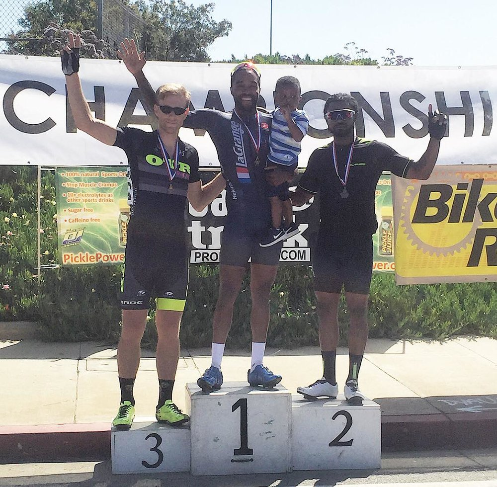 Elijah Shabazz on a hot streak, with yet another win, this time at LA Circuit Race!