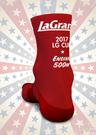 In conjunction with a generous donation by sponsor  Seth Davidson Law - Bike Injury Lawyer , these are the free socks that all Encino participants will get! You will need to sign up and show upand race the event in order to get your socks. Sign, up, show up and race all three events and you've got yourselves three pairs of custom, unique, never to be available again 2017 LG Cup socks.
