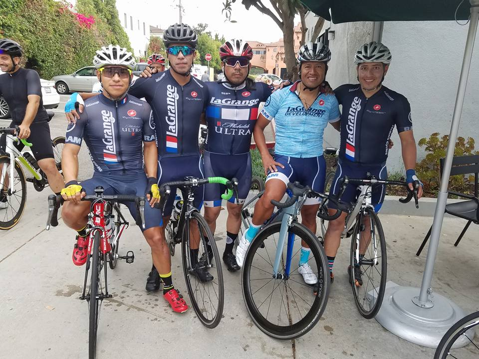 Team Guatemala made the trip north to guest ride for our Mens Race Team at the Manhattan Beach Grand Prix.