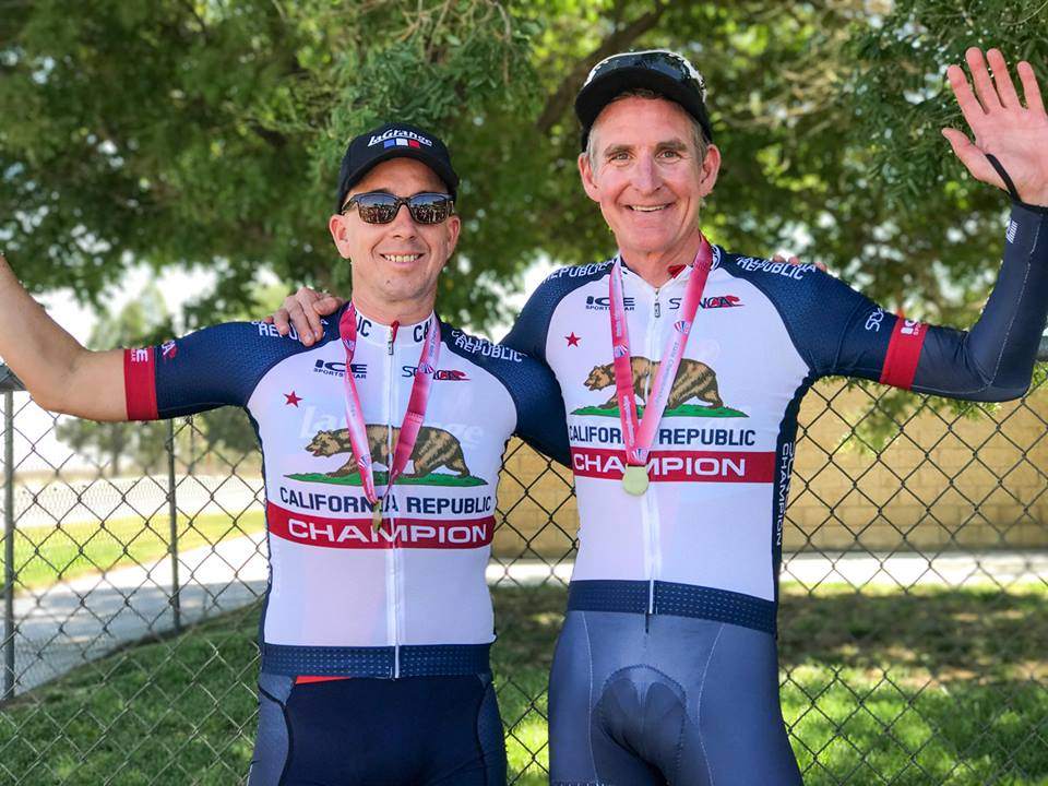 Peter Dorantes and Nick Gillock took home the title in the 2-Man 90+ division