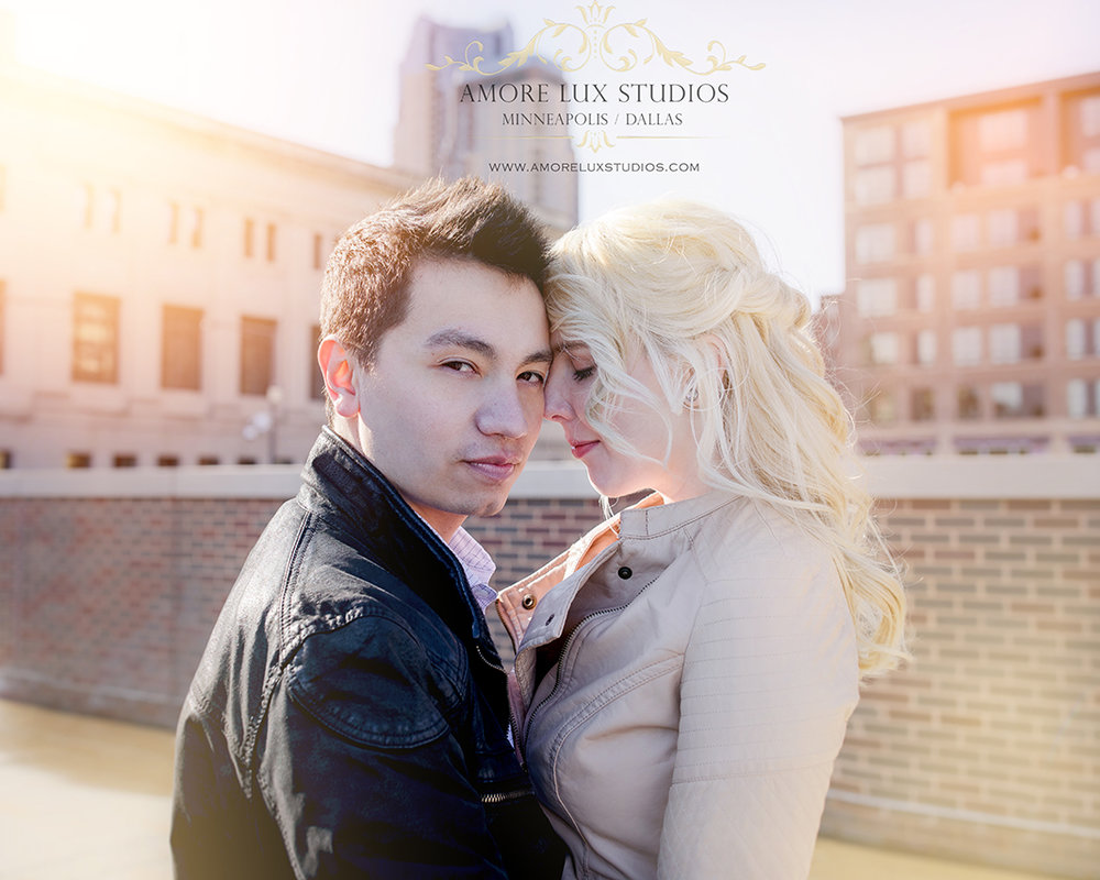 Union Depot Engagement Session St. Paul